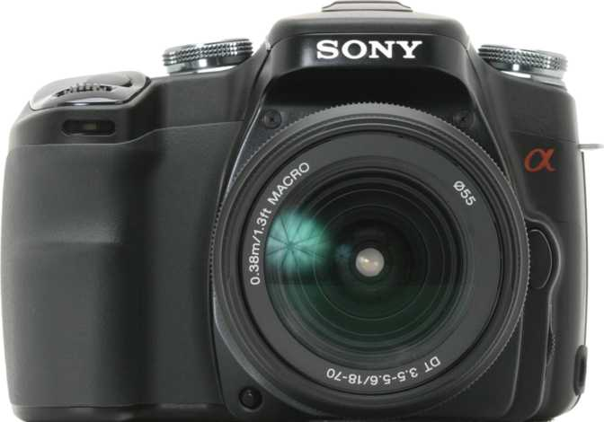 Sony A230 DSLR vs Sony A100 DSLR + Sony DT 18-70 mm/ F3.5-5.6