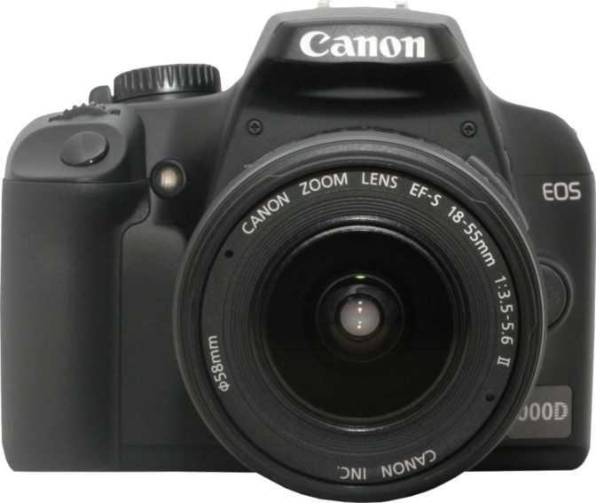 Sony A300 DSLR vs Canon EOS 1000D + Canon EF-S 18-55mm f/3.5-5.6 IS II