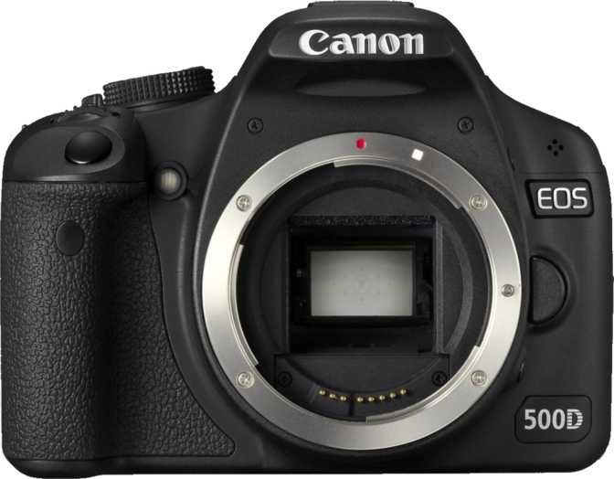 Canon EOS 500D vs Canon PowerShot A3400 IS