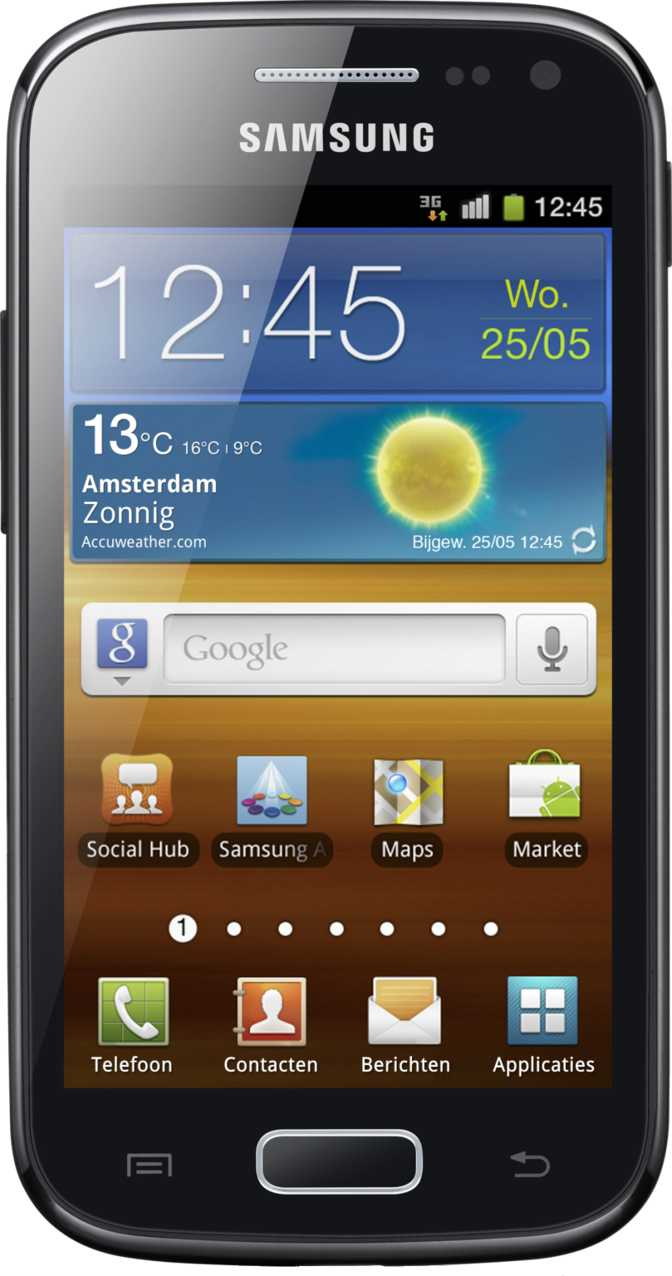 LG Optimus Black P970 vs Samsung Galaxy Ace 2