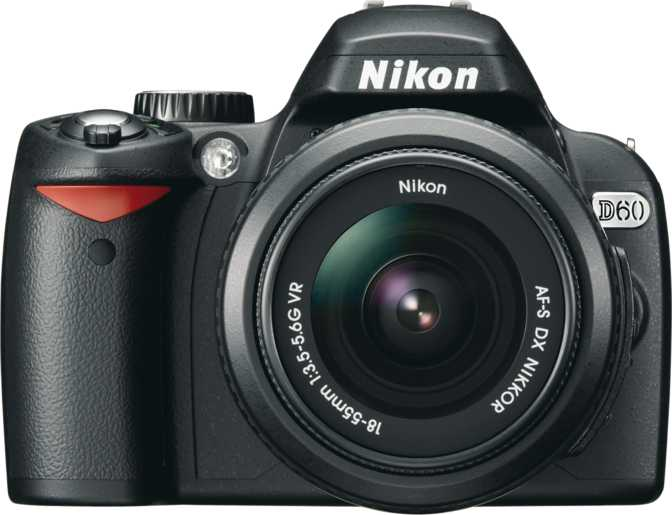 Nikon D60 + 18-55mm f/3.5-5.6G AF-S VR DX NIKKOR vs Canon EOS 7D Mark II