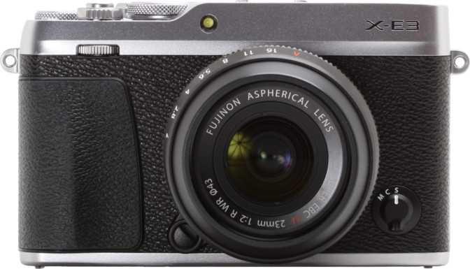 Fujifilm X-T100 vs Fujifilm X-E3