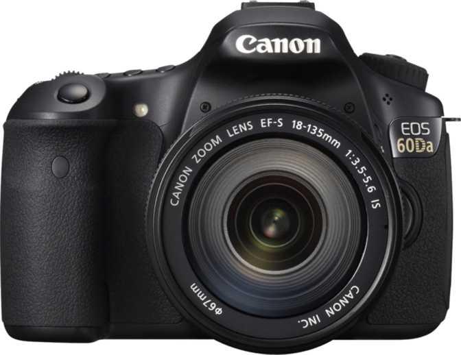 Canon EOS 650D + Canon EF-S 18-55mm vs Canon EOS 60Da + Canon EF-S 18-135mm