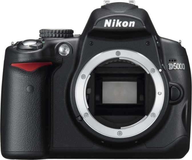 Nikon D5000 vs Canon EOS 7D Mark II