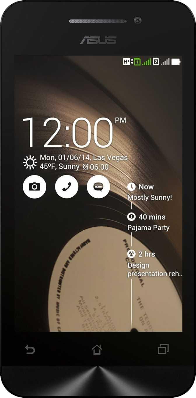 Apple iPhone 4S vs Asus Zenfone 4 (A400CG)