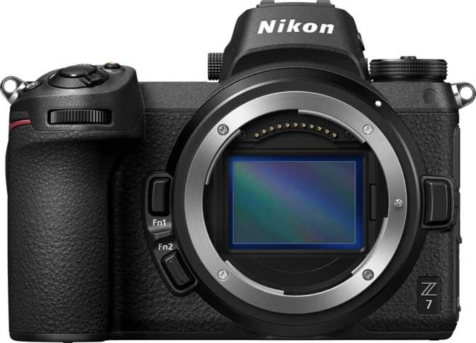 Nikon Z7 vs Canon EOS 7D Mark II
