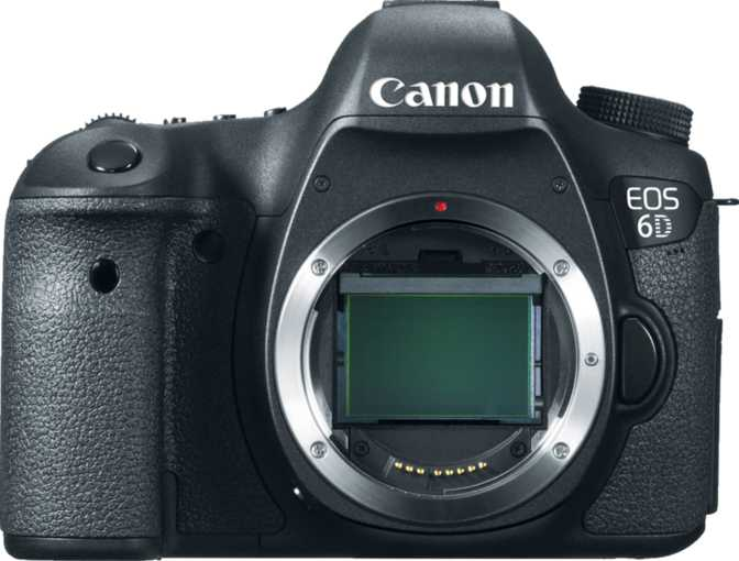 Canon EOS 6D vs Sony Alpha A6300