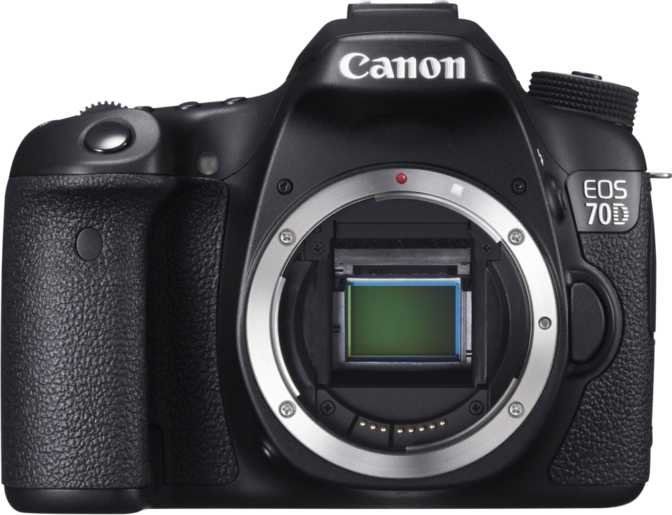 Canon EOS Rebel SL2 + Canon EF-S 18-55mm f/4-5.6 IS STM vs Canon EOS 70D