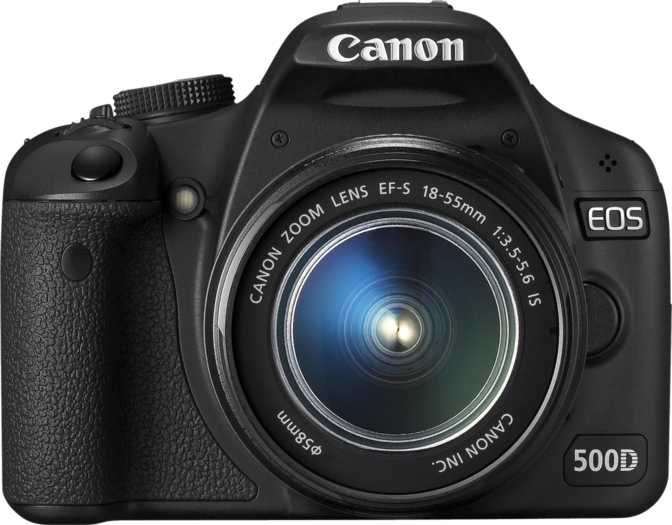 Canon EOS 5D Mark II vs Canon EOS 500D + Canon EF-S 18-55mm f/3.5-5.6 IS