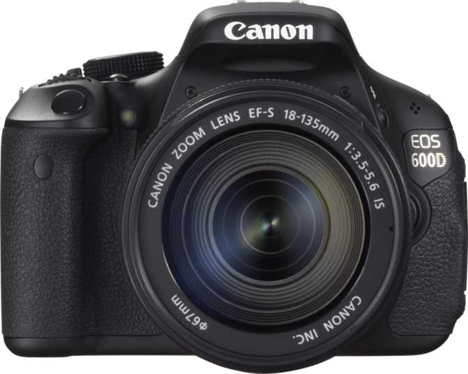 Canon EOS 600D + Canon EF-S 18-135mm f/3.5-5.6 IS vs Nikon D5000