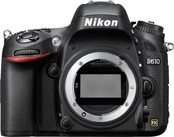 Nikon D610 vs Canon EOS M6 Mark II