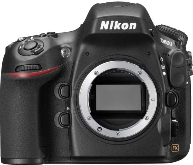 Canon EOS 6D Mark II vs Nikon D800