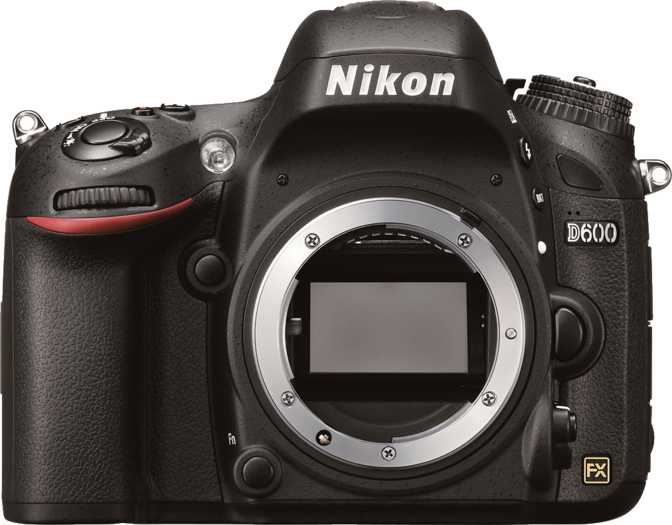 Nikon D600 vs Panasonic Lumix DMC-FZ60