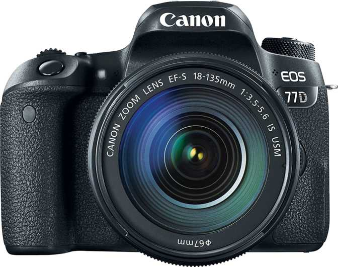 Canon EOS 70D + Canon EF-S 18-55mm f/3.5-5.6 IS STM vs Canon EOS 77D + Canon EF-S 18-135mm f/3.5-5.6 IS USM