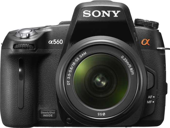 Sony A580 DSLR + DT 18-55mm/ F3.5-5.6 SAM vs Sony A560 DSLR + Sony DT 18-55mm/ F3.5-5.6 SAM
