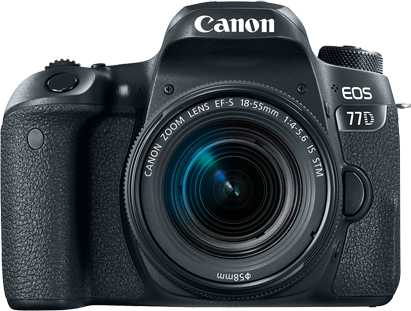 Canon EOS 70D + Canon EF-S 18-55mm f/3.5-5.6 IS STM vs Canon EOS 77D + Canon EF-S 18-55mm f/4-5.6 IS STM