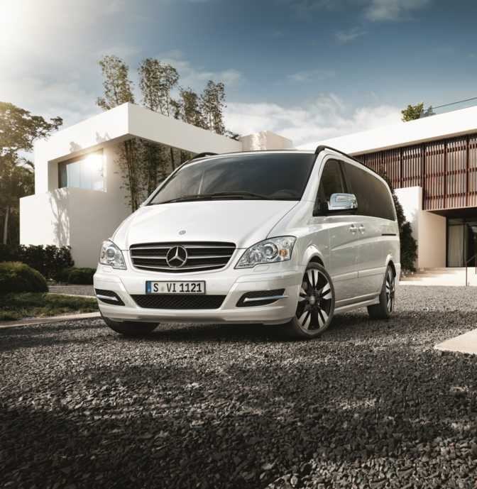 General Mobile GM 8 vs Mercedes-Benz Viano 2.0 (2014)