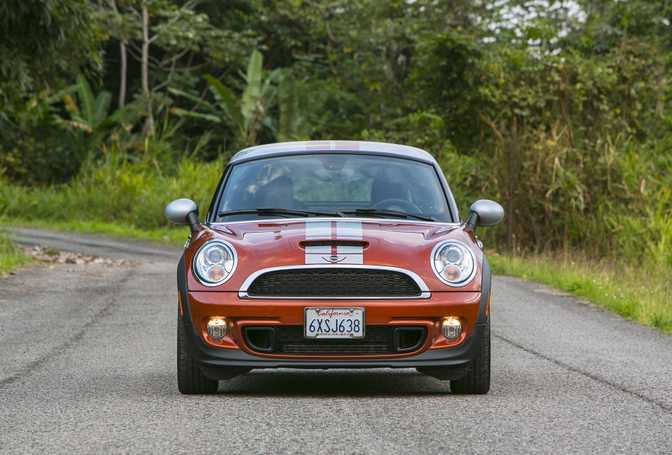 MINI Cooper Coupe (2014)