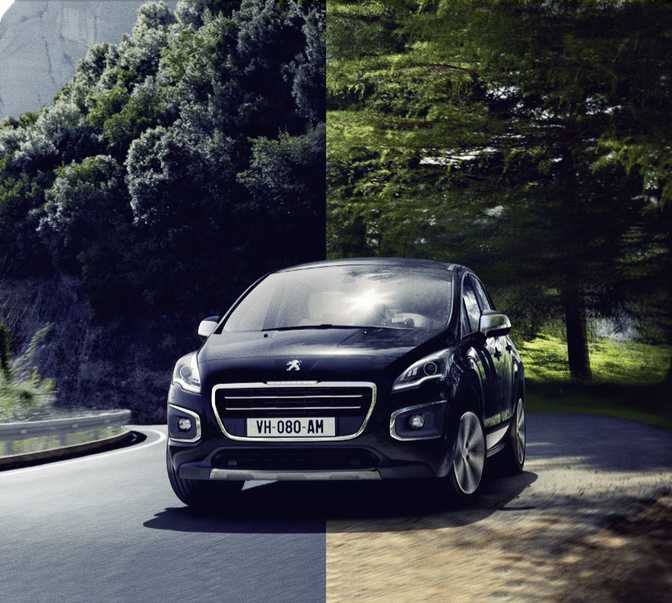 Ford Kuga Zetec (2014) vs Peugeot 3008 Access (2014)