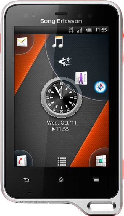 Acer Liquid Z4 vs Sony Ericsson Xperia active