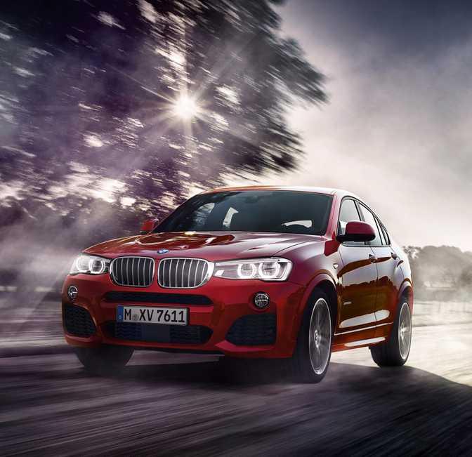 BMW X3 xDrive28i (2014) vs BMW X4 xDrive28i (2014)