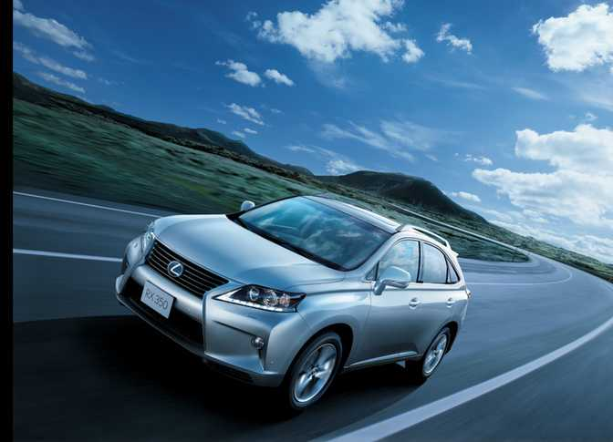 Lexus RX 350 (2015) vs Mercedes-Benz ML350 (2014)