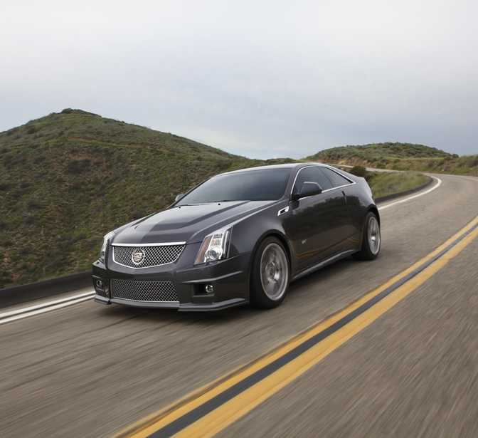 Cadillac CTS-V Coupe (2014)