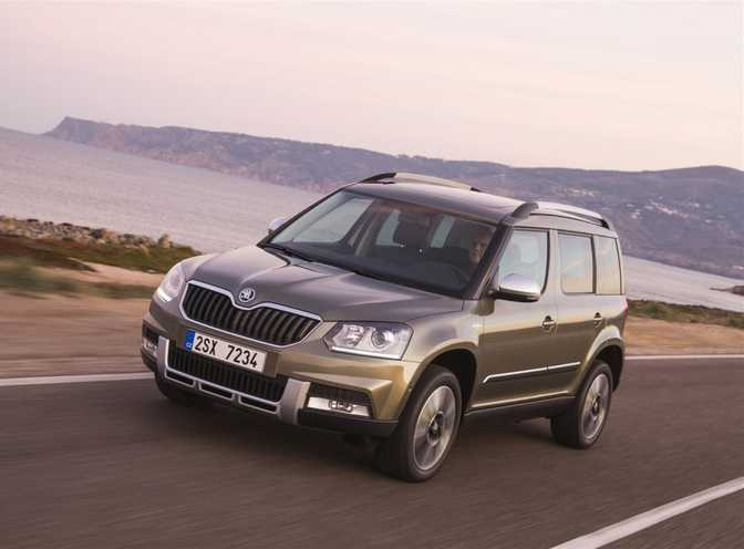 Skoda Octavia Estate (2014) vs Skoda Yeti 4 (2014)