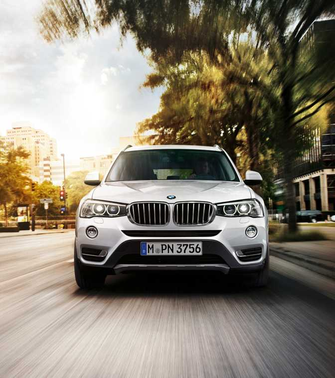 BMW X3 xDrive28i (2014) vs Volvo XC60 (2015)