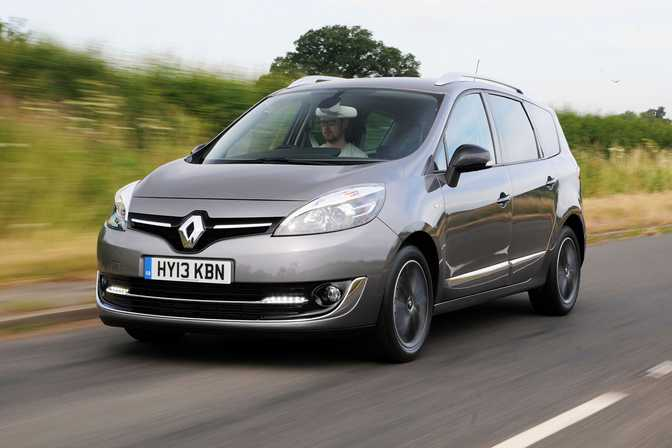 Renault Grand Scenic Dynamique TomTom 1.6 (2014) vs Apple iPhone 11 Pro