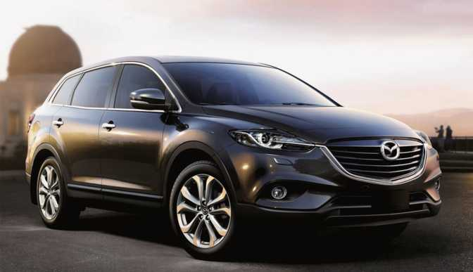 Mazda CX-9 Sport (2014) vs BMW 528i Sedan (2014)