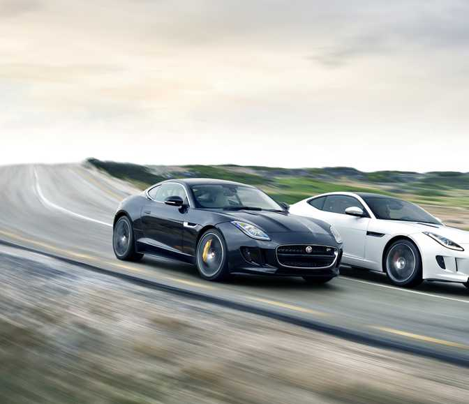 Ford Mustang Shelby GT500 (2014) vs Jaguar F-Type Coupe (2014)