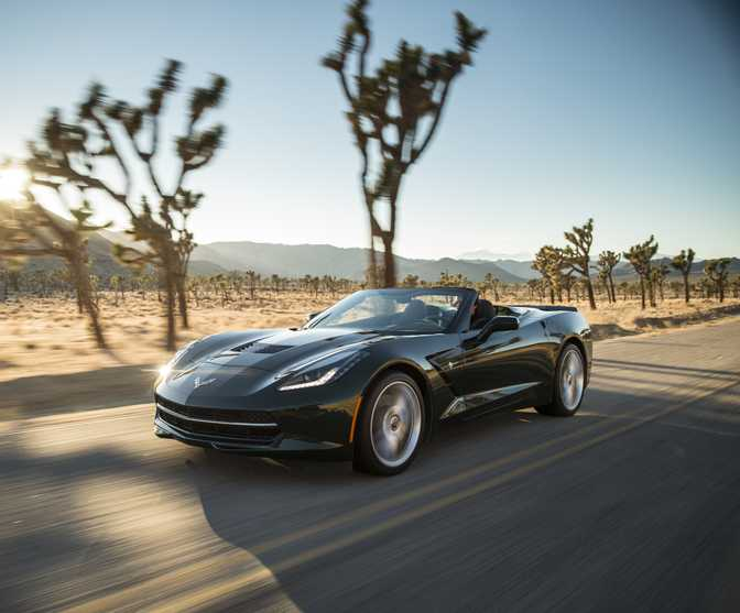 Chevrolet Corvette Stingray Convertible (2014)