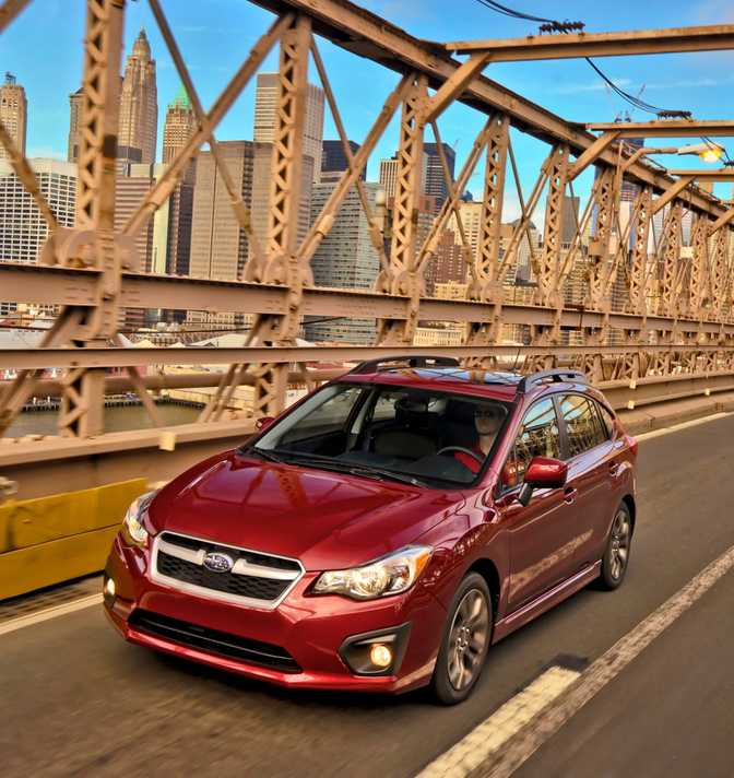 Subaru Impreza 5-Door 2.0i (2014) vs Opel Astra Expression (2014)