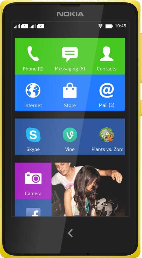 Nokia Lumia 735 vs Nokia X