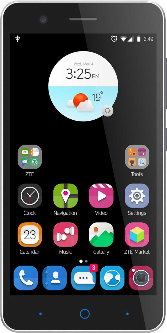 Samsung Galaxy S7 vs ZTE Blade A510