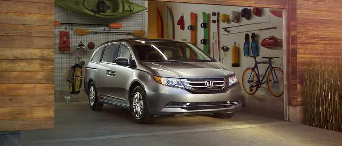 Toyota Land Cruiser (2014) vs Honda Odyssey LX (2015)