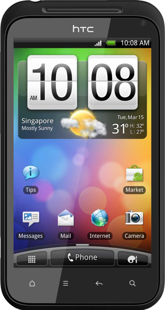 Huawei Ascend P1 S vs HTC Incredible S