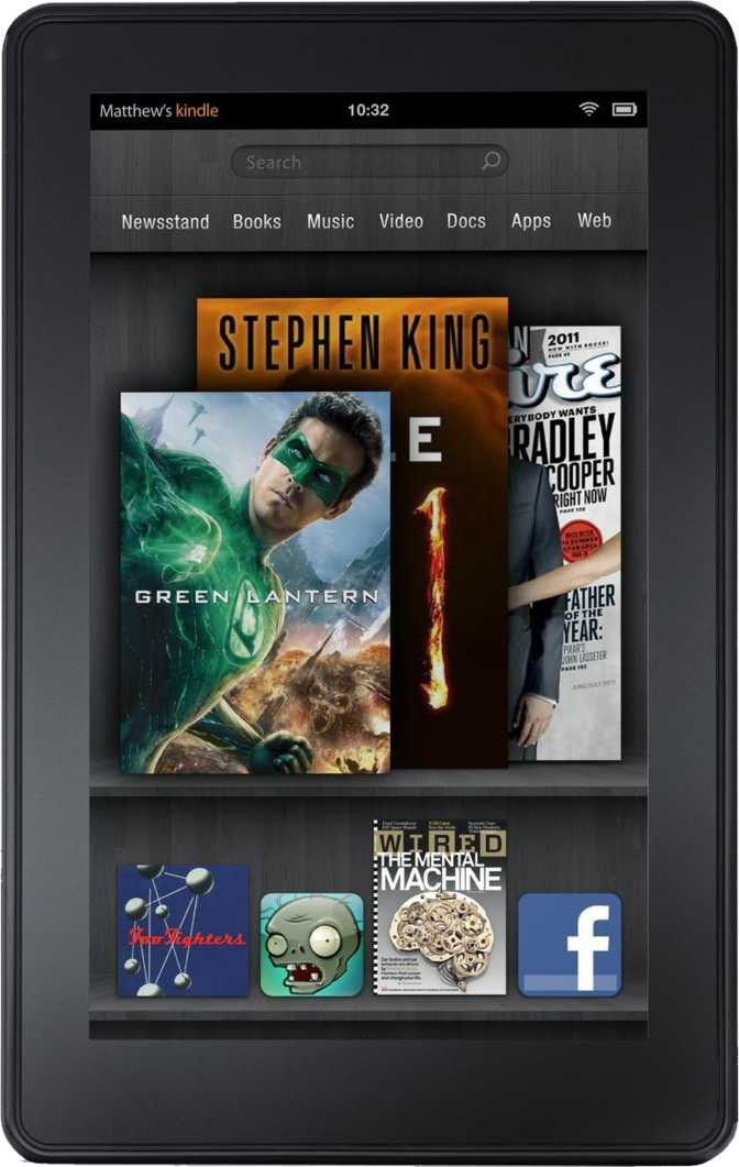 LG Optimus Pad LTE vs Amazon Kindle Fire