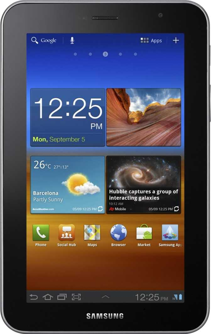 Samsung Galaxy Tab 7.0 Plus P6200 16GB