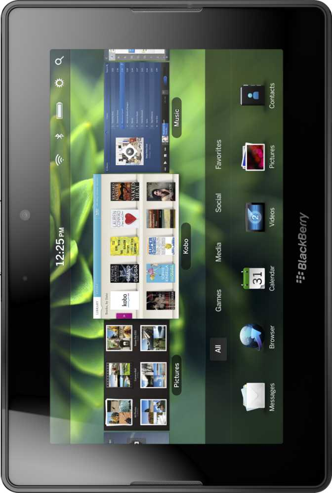 Lenovo IdeaTab A2107 vs BlackBerry 4G LTE PlayBook