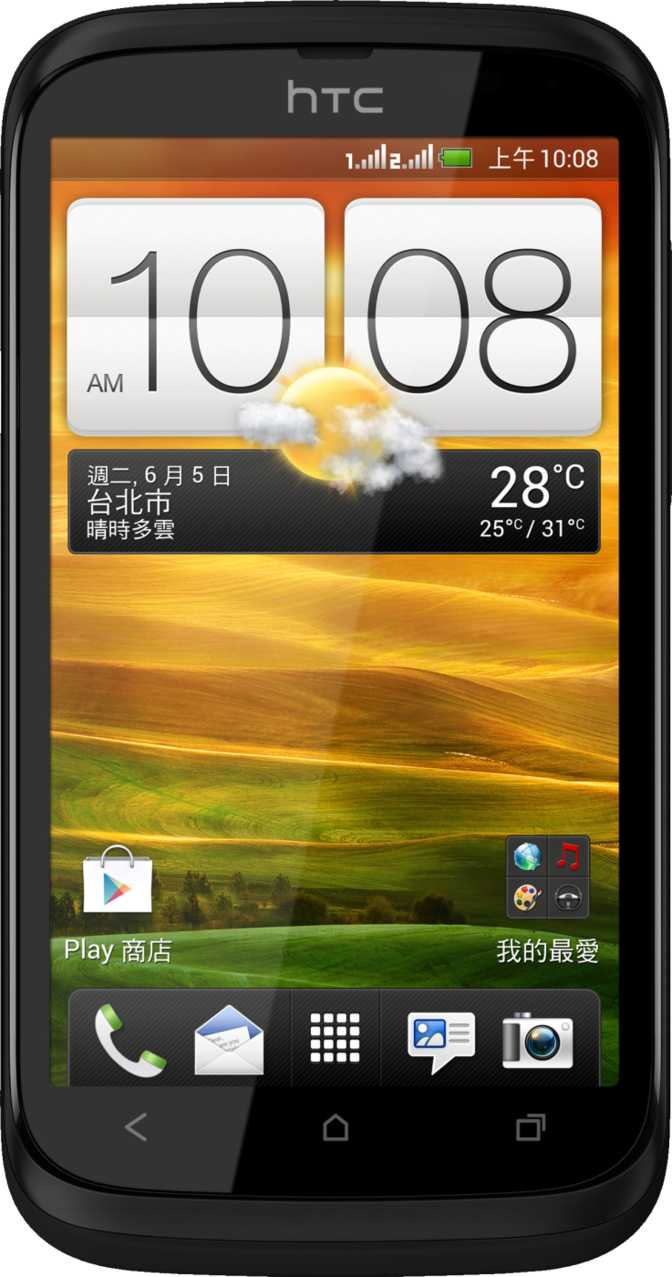 HTC First vs HTC Desire V