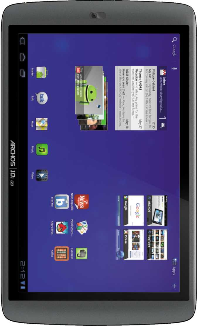 Archos 101 G9 HDD 16GB turbo version