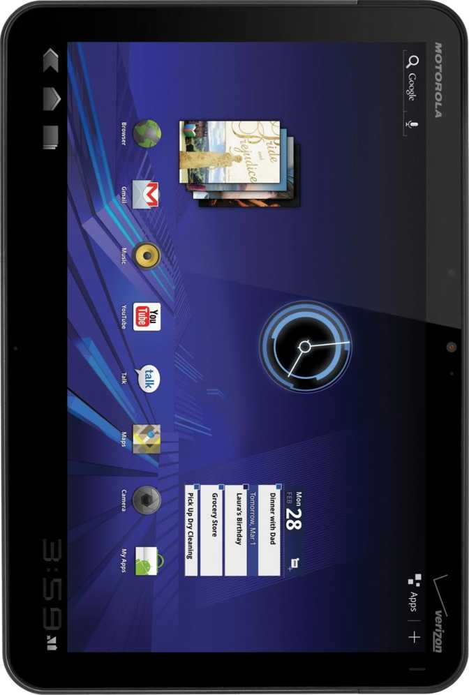Lenovo IdeaTab A2107 vs Motorola XOOM Media Edition MZ505