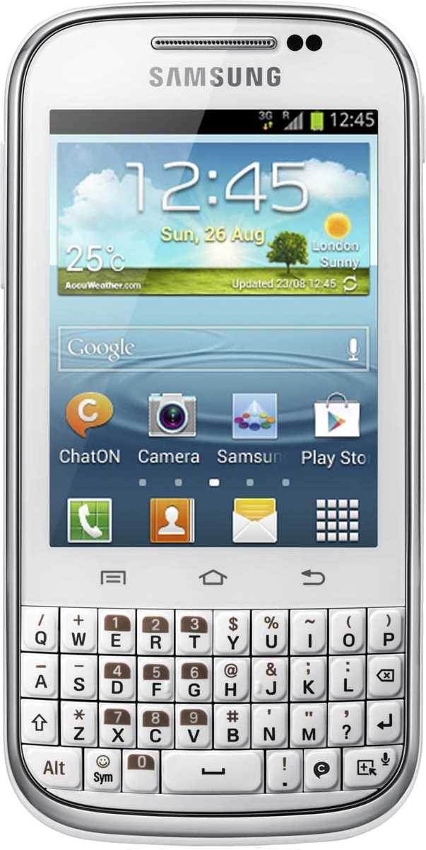 Sony Xperia ZL vs Samsung Galaxy Chat B5330