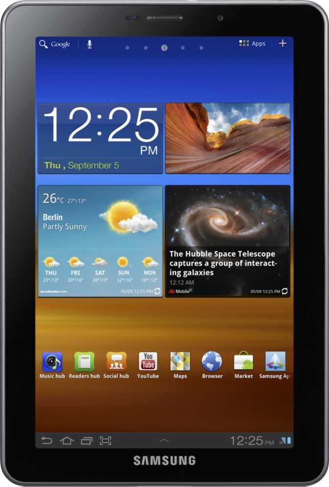 Samsung Galaxy Tab S6 WiFi vs Samsung Galaxy Tab 7.7 P6800 64GB