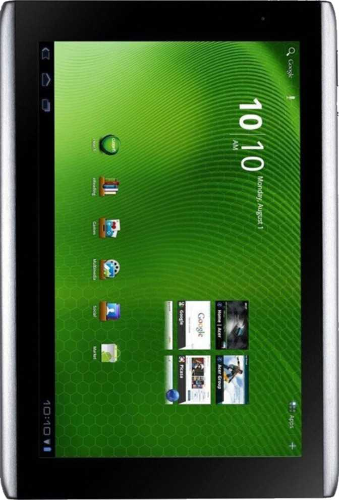 Huawei Enjoy Tablet 2 vs Acer Iconia Tab A500 32GB