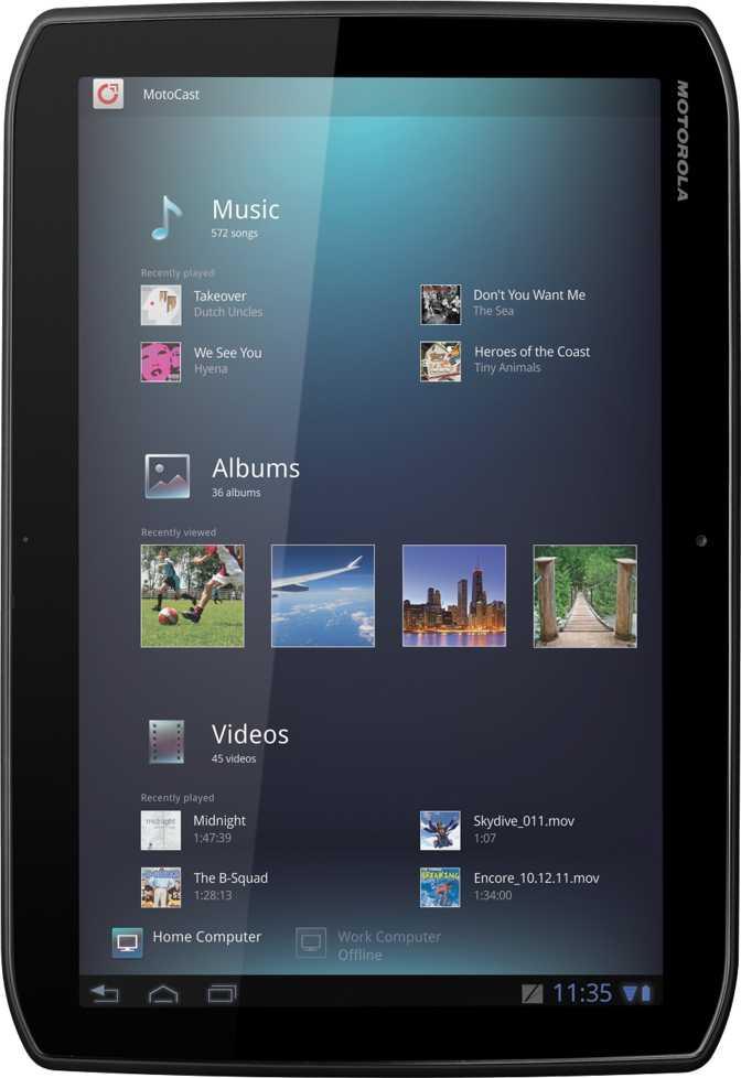 Lenovo Tab 4 10 vs Motorola XOOM 2 MZ615 16GB