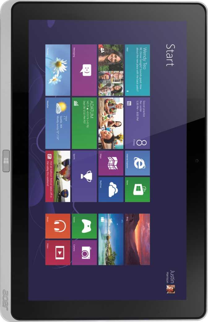 Asus Zenfone 2 Deluxe (ZE551ML) vs Acer Iconia W700 64GB