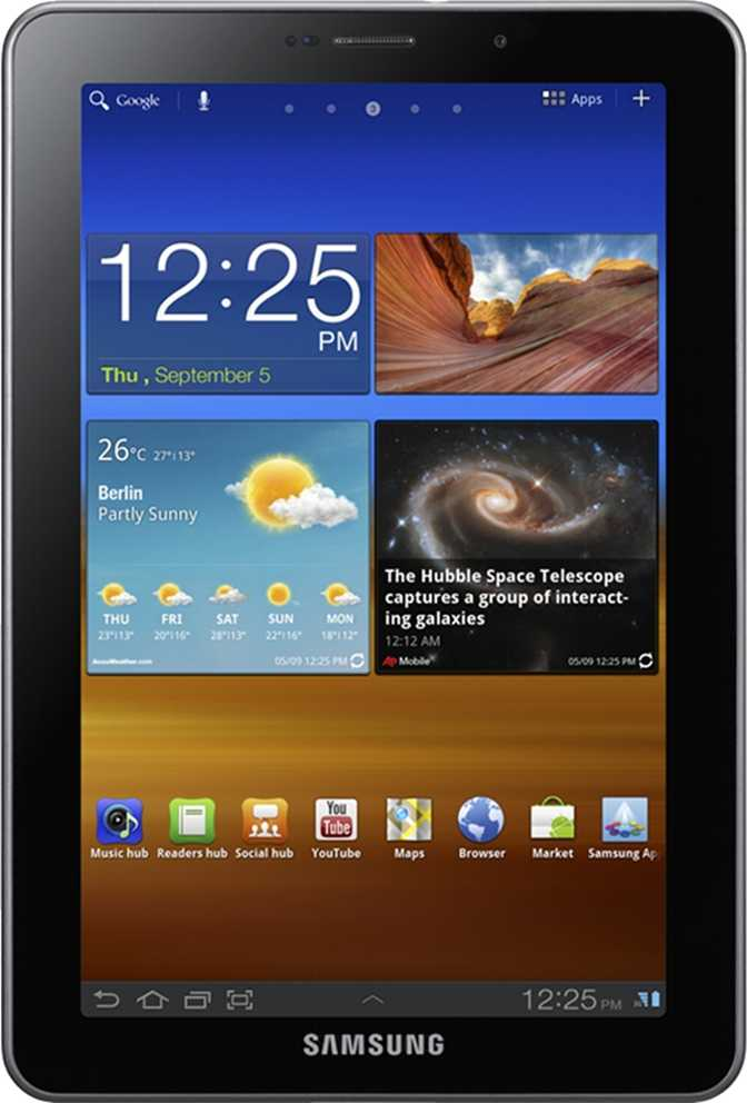 Lenovo Tab M7 WiFi + Cellular vs Samsung Galaxy Tab 7.7 P6810 16GB